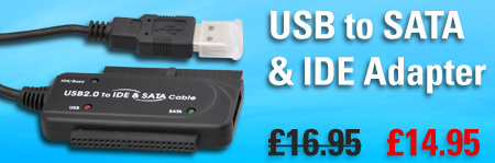 USB to SATA and IDE adapter, now only £11.95