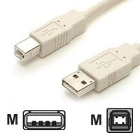 USB A-B Device (Printer) 1m Cable