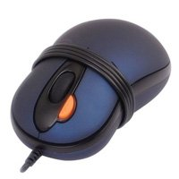2X Traveler Mini Optical Mouse (AK-6D)