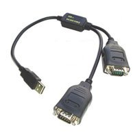 USB to RS-232 cable X 2 connectors