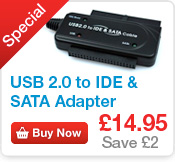 USB to IDE & SATA Cable Adapter