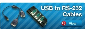 USB to RS-232 Cables